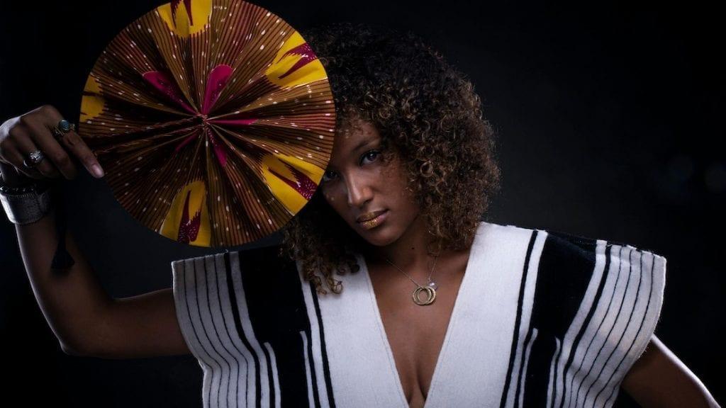 La chanteuse sénégalaise AWEN.
