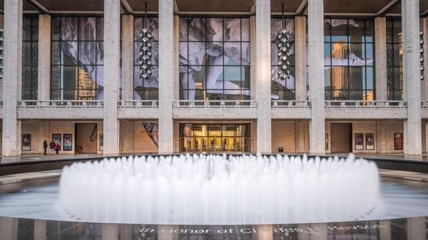 Le Metropolitan Opera de New York, au sein du Lincoln Center, © AFP : GUIZIOU Franck
