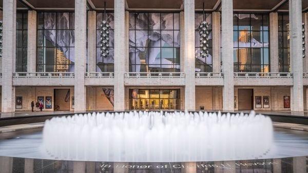 Le Metropolitan Opera de New York, au sein du Lincoln Center, © AFP : GUIZIOU Franck