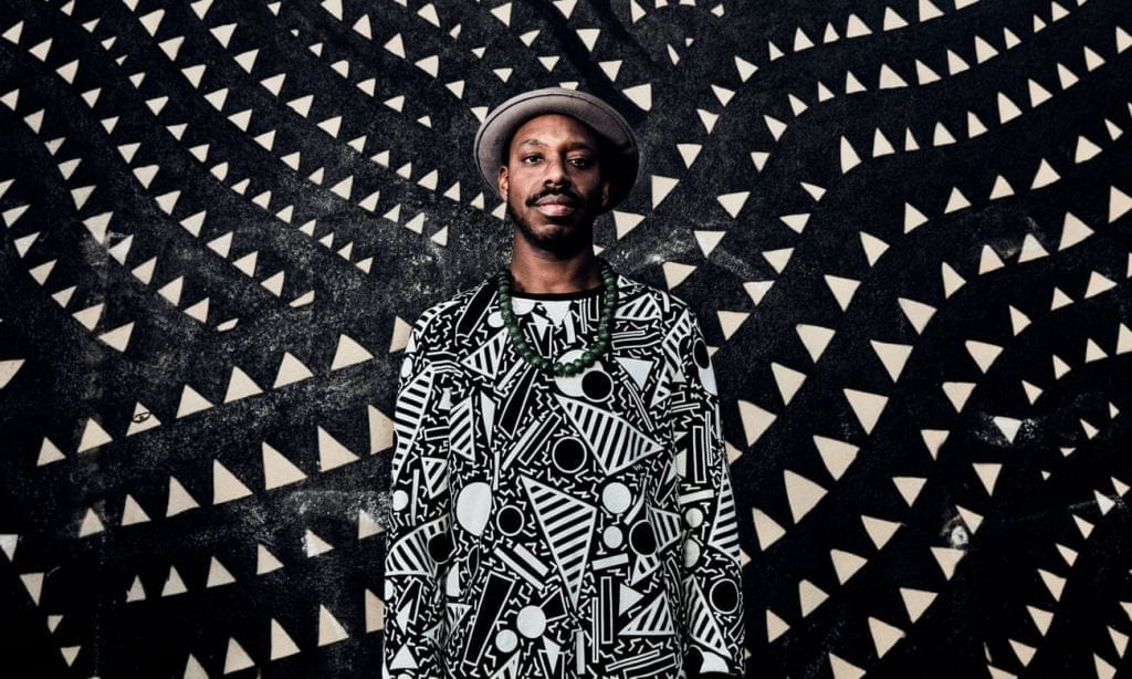 The jazzman cometh... Shabaka Hutchings. Photograph: Pierrick Guidou