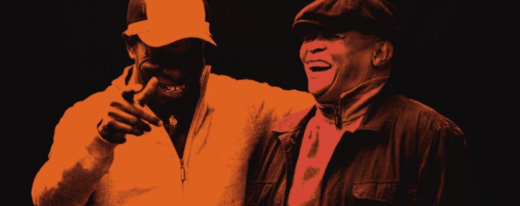 Tony Allen and Hugh Masekala Visuel © Gavin Rodgers