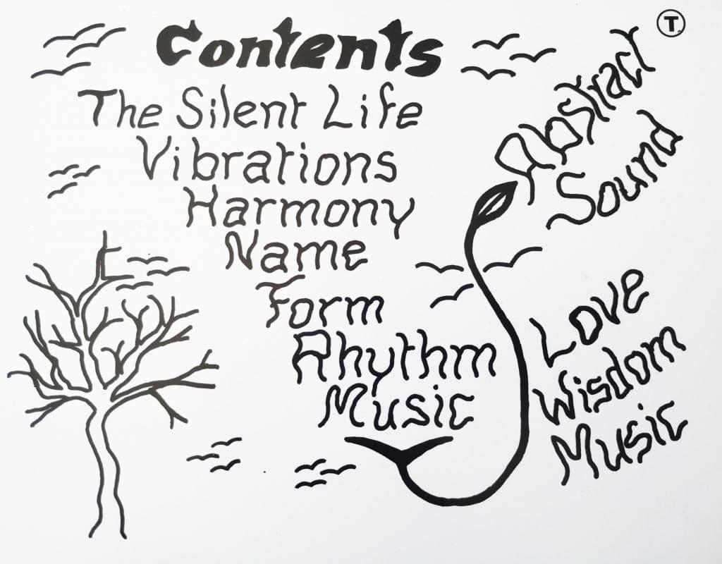 manuscrit de Don Cherry sur la pochette de Mu