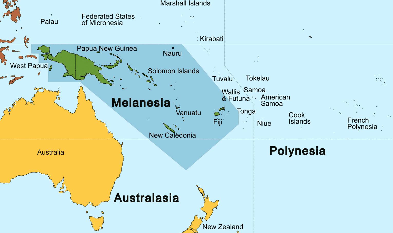 1. La Mélanésie Creative Commons Attribution Share Alike 3.0 Unported