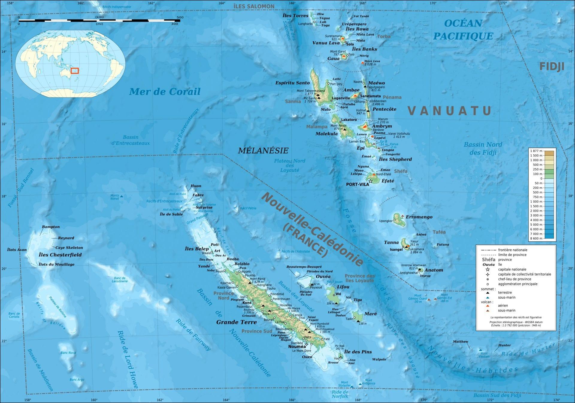 3. Vanuatu & Nouvelle Calédonie