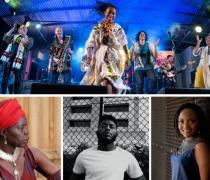 Afropop Worldwide Promo Photo Collage Top Bjx L Ajak Kwai C Ijale R Kix