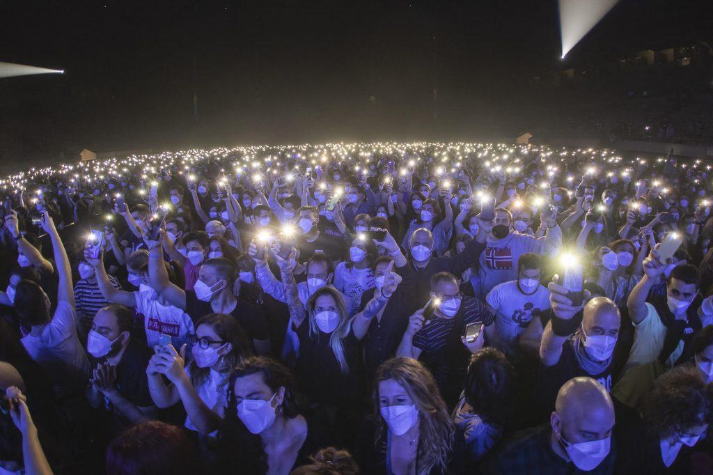 concert au Palau Sant Jordi - © Xavi Torrent
