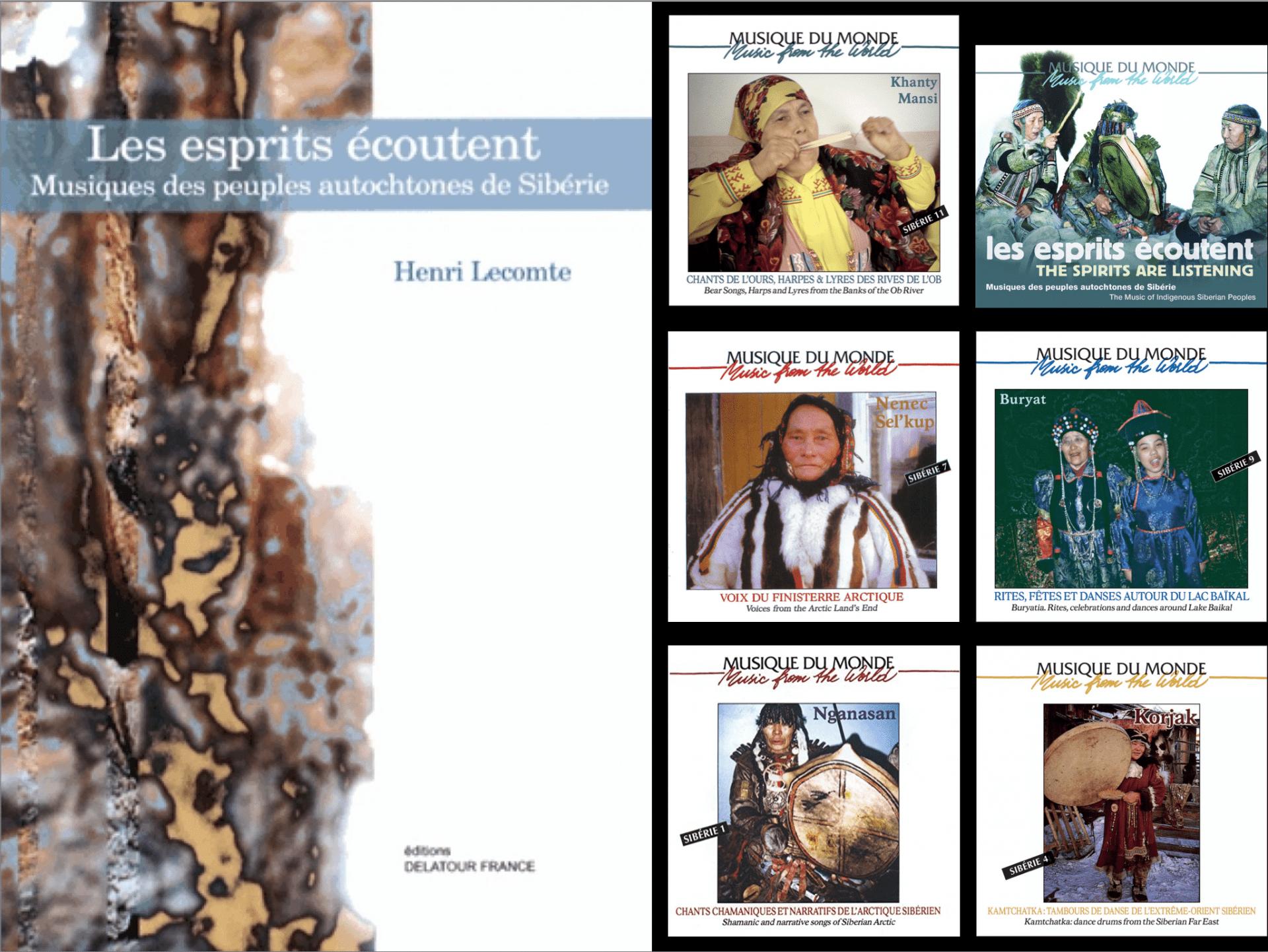 Livre et CD d'Henri Lecomte