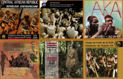 Disques Musiques Pygmées